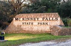 Hiking McKinney Falls State Park Upper Falls