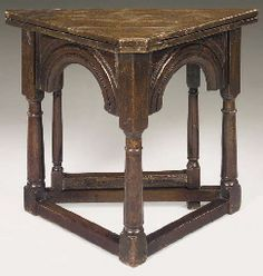 English Credence Table 17th Century