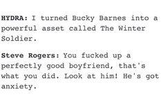 Steve Rodgers & Bucky Barnes #CaptainAmerica #WinterSoldier