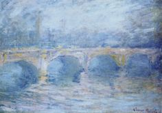 Waterloo Bridge at Sunset by Monet