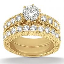 I wouldn't choose this as an engagement ring (if I ever DO sign my life away) but it attracts me for some reason. Probably bc it's gold.