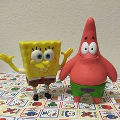 For Sale: Spongebob & Patrick Toys for $5