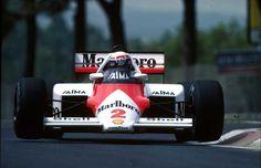 1985 - Alain Prost, McLaren TAG