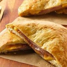 Grands!® Ham and Cheese Melts made these tonight- awesome!!! Added bacon, sea salt and pepper- amazing!