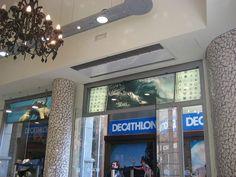 Commercial Entrances Recessed Air Curtains