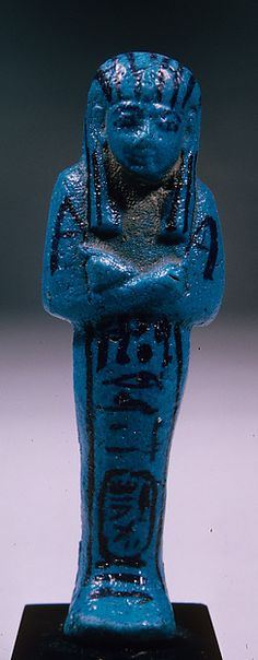 Shabti of Painedjem, ca. 1070–945 B.C. Egypt. The Metropolitan Museum of Art, New York. Purchase, Edward S. Harkness Gift, 1926 (26.7.981)