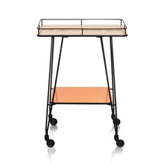 Buy the Orange Studio Drinks Trolley at Oliver Bonas. We deliver Furniture throughout the UK within 5-12 working days from £35.