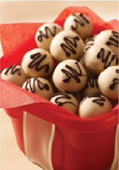 Nilla Tiramisu Cookie Balls – What do you get when you cross an Italian dessert with today's hottest treat? Tiramisu Cookie Balls. They're as scrumptious as you'd imagine.
