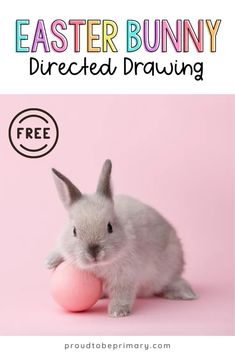 Are you searching for the perfect arts and craft activity for Easter? This Easter bunny directed drawing provides teachers with an easy to teach art lesson that Kindergarten and primary kids will love! {FREE directions included} #directeddrawing #easter #easteractivities #easterbunny #artforkids Preschool Art Projects, Easter Activities For Kids, Preschool Lessons, Spring Activities, Lessons For Kids, Kindergarten Activities, Preschool Activities, Drawing For Kids, Art For Kids