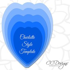 Extra Large Charlotte style and leaf paper flower PDF printable templates. This is a digital file. Convenient instant download. This listing includes: ♥ 5 size Charlotte style petals PDF format (Templates make about a 17 inch flower in diameter unless altered.) ♥ 1 PDF leaf template ♥ Basic instructions for building the flower and helpful video tutorial links. ♥ Video tutorial If you have trouble accessing your images please contact me so I can make sure you get your files. If you wish to…
