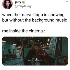 Everybody knows who is IronMan or Captain America but before 2008 most of us don't know about Avengers. In the year 2008 Marvel introduced to us The MCU (Marvel Cinematic Universe) with IronMan movie. Funny Marvel Memes, Marvel Jokes, Avengers Memes, Avengers Imagines, Marvel Dc, Logo Marvel, Mundo Marvel, Johnlock, Destiel
