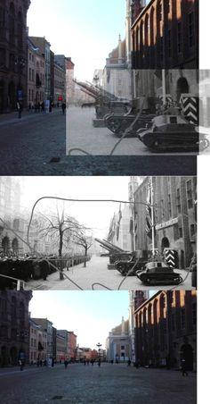 Toruń 2016/1941 Toruń 1941 rok, wystawa zdobytego przez Niemców polskiego sprzętu. TKS, 7TP,