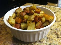 Niki Cooks for Interstitial Cystitis: Easy Cubed Potatoes