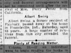 Albert Swing, Sr.