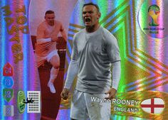FIFA World Cup 2014 Brazil Adrenalyn XL Wayne Rooney (International Version) Top Master: Amazon.co.uk: Toys & Games