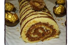 Matcha tea and nettle cake - HQ Recipes Torta Ferrero Rocher, Chocolates Ferrero Rocher, Nutella, Tuna Cakes, Number Cakes, Portuguese Recipes, Portuguese Food, Salty Cake, Cupcakes
