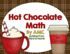 Fun math freebie to teach students problem solving using combinations/tree diagrams with a hot chocolate theme.
