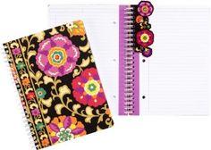 Vera Bradley Suzani Spiral Notebook Journal (6x8)