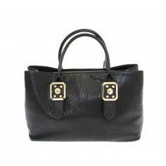 a5c2b763eedb Versace Jeans Black Eco Leather Shoulder Bag