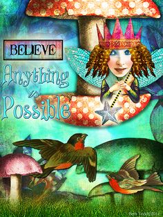'Anything is Possible' created by Beth Todd©2014 using images from Tumble Fish Studio  http://www.deviantscrap.com/shop/