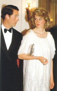 May 20, 1984: Prince Charles & Princess Diana attend a Luciano Pavarotti Charity Gala in aid of the Opera House Development Appeal & Trust at the Royal Opera House, Covent Garden.