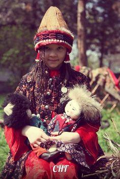 Kyrgyz child