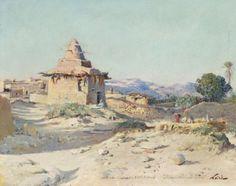 Maxime NOIRÉ (1861-1927)Maxime NOIRÉ (1861-1927)    Marabout à Sidi Bohrof