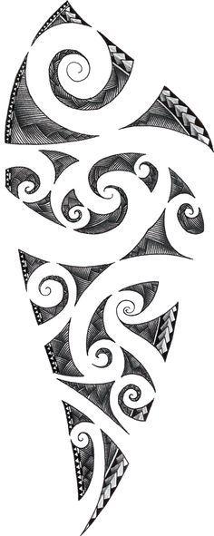 Maori Tattoo Design by ZakonKrancaSwiata on DeviantArt Maori Tattoos, Maori Tattoo Frau, Ta Moko Tattoo, Samoan Tattoo, Forearm Tattoos, Sleeve Tattoos, Hawaiian Tribal Tattoos, Polynesian Tribal, Polynesian Tattoos