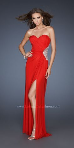 La Femme 18771 Dress  View this #red #dress, along with countless others at: daphnedresses.com  #reddress #fashion #gown #formal #formalwear #ladies #womensfashion #short #shortdress #homecoming #prom #prom2k15 #prom2015 #gorgeous #stunning #elegant #promdress #style #glamorous #beautiful #shoes #girl #love #loveit