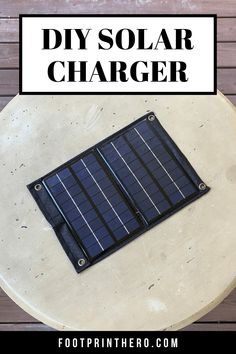 Solar Phone Chargers, Solar Charger, Portable Solar Power, Solar Power System, Survival Stuff, Survival Life, Homestead Survival, Survival Prepping, Free Solar Panels