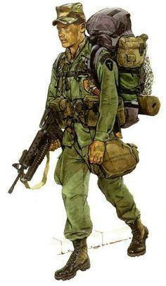 U.S. LRRP Force