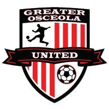 Greater Osceola United Soccer Club- St. Cloud, FL. Team Mascots, St Cloud, Great Logos, Sports Logos, Badges, Team Logo, Soccer, Florida, The Unit