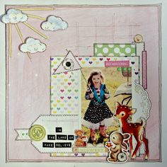 By Krissy Clark McKee - Created for Pretty Little Studio