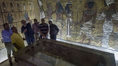 High-Tech Radar May Have Just Led Researchers to Discover Egyptian Queen Nefertiti's Secret Burial Chamber in Tut's Tomb Egyptian Queen Nefertiti, Archaeological Discoveries, Valley Of The Kings, Tutankhamun, Cairo, Art World, National Geographic, Luxor, Discovery