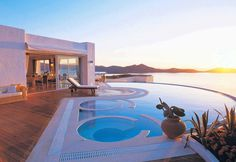 Twitter / Earth_Pics: Elounda Gulf Villas, Crete, ...