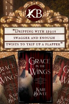 Grace Michelle has everything she wants; a home, a family, and a future career as a costume designer for the Ziegfeld Follies. Pretty good for a girl who was orphaned at a young age and living on the streets of New York City. But when her sister Sophia, the star of the show is murdered, Grace's once protected life is shattered. #historicalmystery #histfic #flapper #1920s #novel