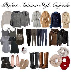 Perfect Fall Capsule Wardrobe      Save. Spend. Splurge.