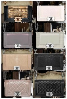 The Chanel Boy Bag is Today's IT Haute Couture Bag - Clutch Bags - Designer Clutch Handbags And Clutch Purses For Women