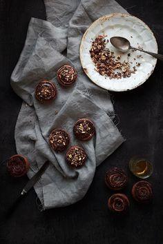 Chocolate & Hazelnut Swirl Spelt Buns | Le Passe Vite