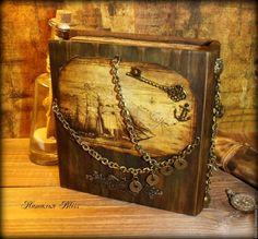 """Купить Пиратская шкатулка """"Тортуга"""" - подарок для мальчика, пират, пираты, пираты карибского моря"""