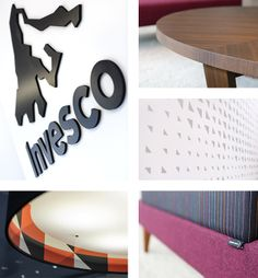 Brand environment, office interior design, workplace design.