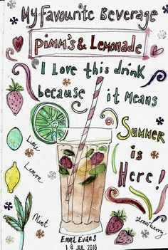 #gtsprep - illustration of favourite beverage