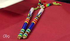 Making Regalia – Dance Sticks