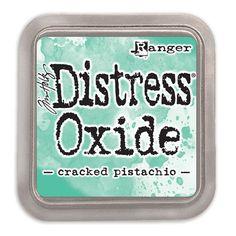 Tim Holtz Distress Oxide Ink Pad CRACKED PISTACHIO Ranger TDO55891 Preview Image