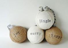 Ideas para Hacer tus propias Esferas Navideñas…