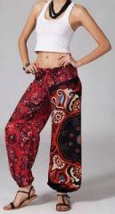 Pantalon femme pas cher imprimé Esteban sur www.akoustik-online.com