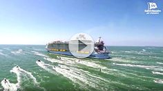 Espectacular salida del Harmony of the Seas en Saint-Nazaire