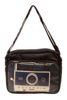 #bag #hold-all #retro #vintage #woman #accessory #polaroid