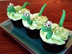 Our dinosaur cupcakes are dino-mite!