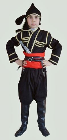 Militia costume from the Artvin province (northeast Turkey). This is a recent workshop-made copy, as worn by folk dance groups. Turkic Languages, Turkish People, The Turk, Folk Dance, Georgian, Traditional Outfits, Ethnic, Workshop, Hipster